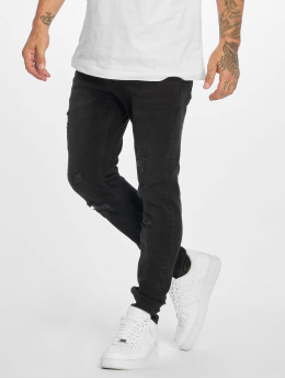 Bangastic Skinny Jeans Birch čern