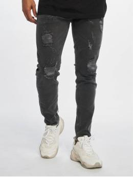 Bangastic Skinny Jeans Pine  šedá