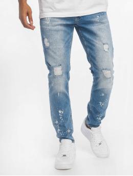 Bangastic Skinny Jeans Maple  modrý