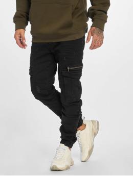 Bangastic Spodnie Chino/Cargo fit czarny