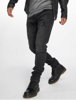 Bangastic Straight Fit Jeans Ron čern