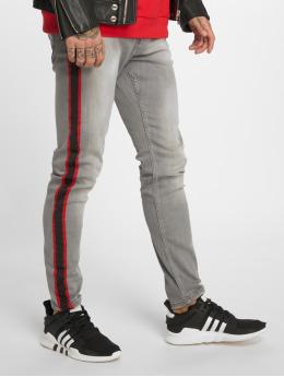 Bangastic Straight Fit Jeans Conner šedá