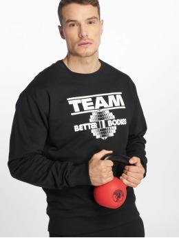 Better Bodies Pullover Team BB schwarz