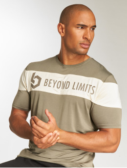 Beyond Limits T-Shirt Chronicle khaki