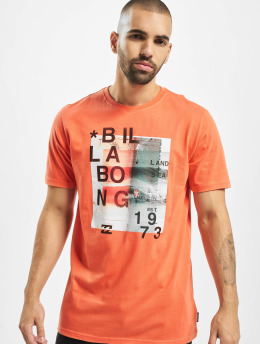 Billabong t-shirt Salty oranje