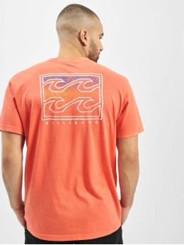 Billabong t-shirt Crusty oranje