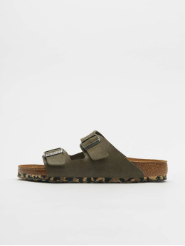 Birkenstock Шлёпанцы Arizona MF зеленый