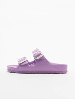 Birkenstock Шлёпанцы Arizona Eva Lavender пурпурный