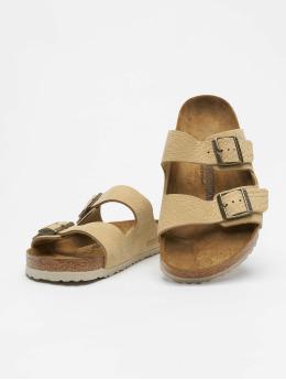 Birkenstock Badesko/sandaler Arizona NU beige