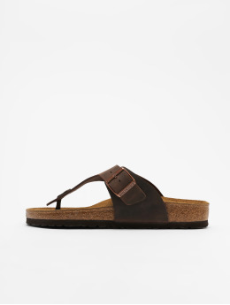 Birkenstock Badesko/sandaler Ramses FL brun
