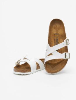 Birkenstock Badesko/sandaler Yao Balance BF hvit