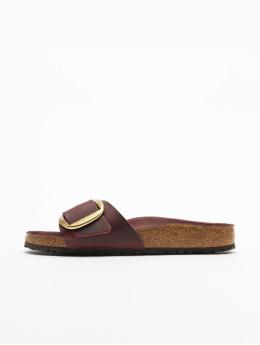 Birkenstock Badesko/sandaler Madrid Big Buckle FL red