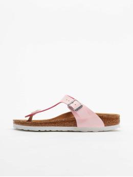 Birkenstock Badesko/sandaler Gizeh BF rosa