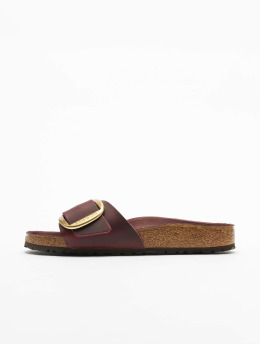 Birkenstock Chanclas / Sandalias Madrid Big Buckle FL rojo