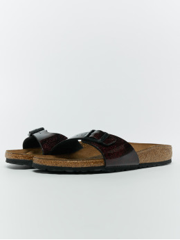 Birkenstock Claquettes & Sandales Madrid BF rouge