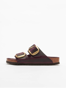 Birkenstock Claquettes & Sandales Arizona Big Buckle FL rouge