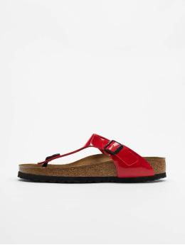 Birkenstock Japonki Gizeh BF czerwony