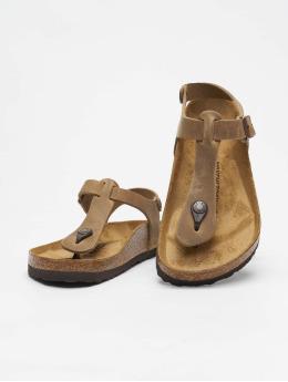 Birkenstock Sandalen Kairo FL  braun