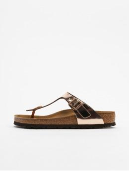Birkenstock Sandals Gizeh NL SFB red