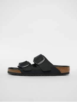 Birkenstock Slipper/Sandaal Arizona Big Buckle FL zwart