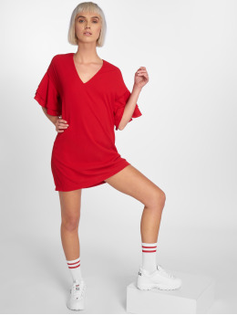Bisous Project Dress Amalie  red
