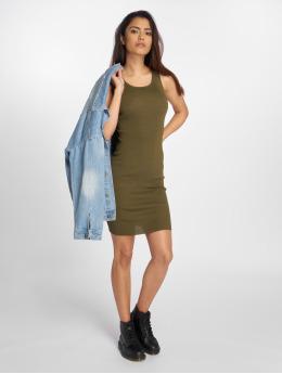 Bisous Project jurk Ripp khaki
