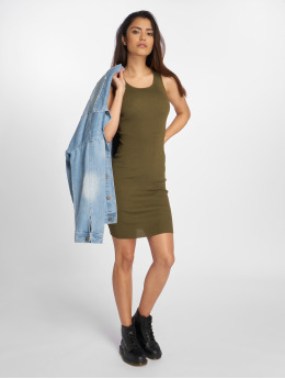 Bisous Project Kleid Ripp khaki