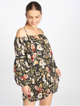 Bisous Project Kleid Flower  schwarz