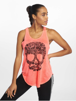 Bisous Project Tanktop Skull pink