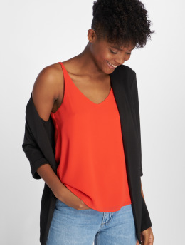 Bisous Project Tops sans manche Nancy orange