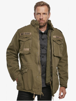Brandit Зимняя куртка M65 Giant оливковый