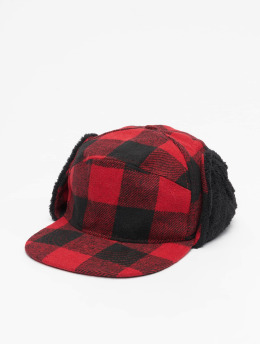 Brandit 5 Panel Caps Winter  rosso