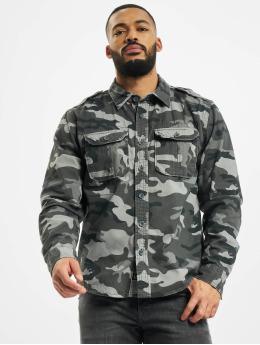 Brandit Camicia Vintage  grigio