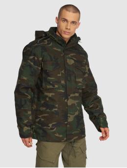 Brandit Chaqueta de invierno M65 Classic camuflaje