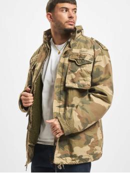 Brandit Manteau hiver M65 Giant  camouflage