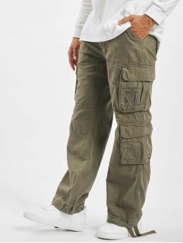 Brandit Pantalone Cargo Pure  oliva