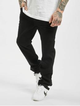 Brandit Straight Fit Jeans Mason Unwashed čern