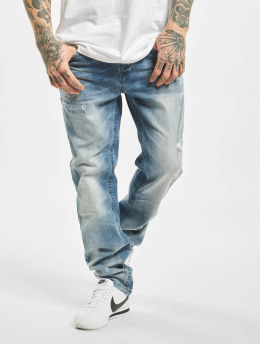 Brandit Straight Fit Jeans Will Denim Trouser No. 1  blå