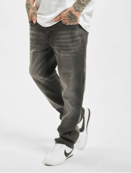 Brandit Straight fit jeans Rover zwart