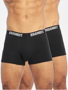 Brandit Underkläder Logo 2er Pack  svart