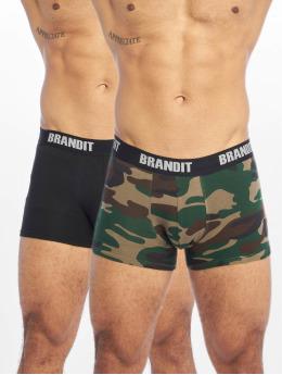 Brandit Unterwäsche Logo 2er Pack camouflage