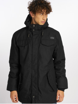Brandit Winterjacke Marsh Lake schwarz