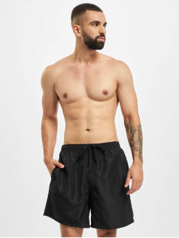 Build Your Brand Badeshorts Recycled schwarz