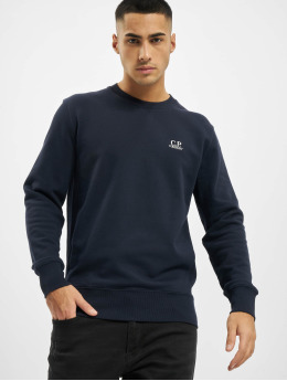 C.P. Company Pullover Logo blau