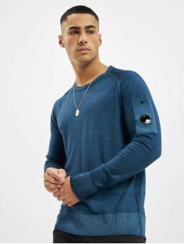 C.P. Company Pullover Company Fast Dyed Merinos blau