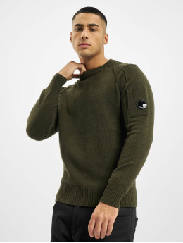 C.P. Company Pullover Knit olive