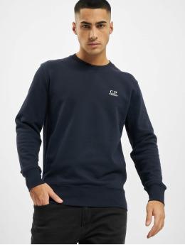C.P. Company Swetry Logo niebieski