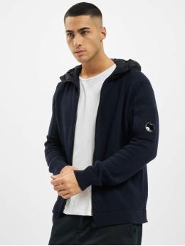 C.P. Company Swetry rozpinane Mixed niebieski