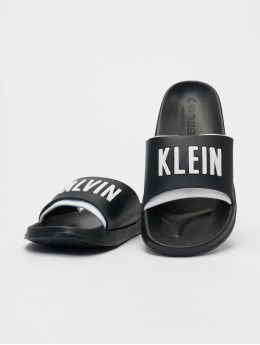 Calvin Klein Шлёпанцы Logo черный
