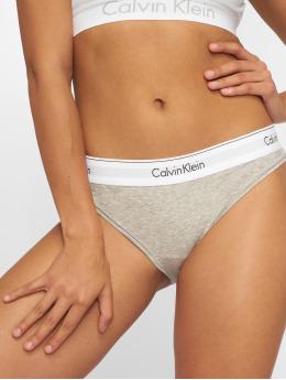 Calvin Klein Spodná bielizeň Calvin Klein Bikini Brief šedá